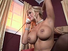 Horny blondie gets fucked in the ass