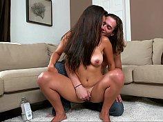 Skinny tanned Latina Sofia Rivera