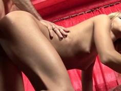 DP with a skinny Brazilian girl