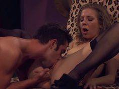 Rotten Chastity Lynn gets her bush wet