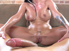 Kelly Summer shoved his cock into her crack and rode it