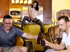 Aria Alexander is seducing her husband's best friend