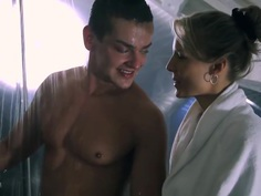 A hot shower... together!