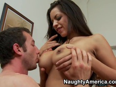 Jordan Ash sets his dick free for Yurizan Beltran