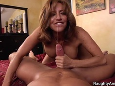 Tara Holiday gives her hubby great anniversary fuck