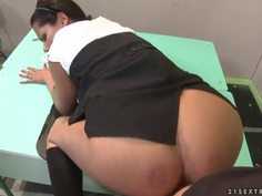 Schoolgirl Cipriana gets boned deep in pov