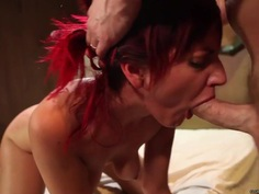 Phoenix Askani gets her pussy filled with hard cock