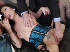 Sizzling Brooklyn Lee is dicked up her butt hole
