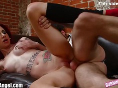 BurningAngel Emo Punk Chick has Hot Anal Sex