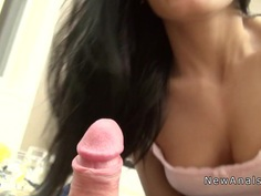 Slim girlfrien anal banged pov homemade