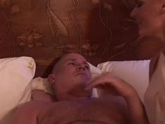 Darryl Hanah and Shay Golden Make His Night