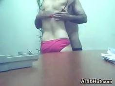 Arabic Office Slut Fucking