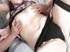 2 cocks for noisy Japanese Karin Kunsunoki