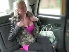 Cindys damn adventure inside the cab