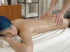 Amateur slut gladly jumps on a hard as rock shlong