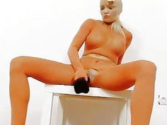 Leggy Nicky Angel full body tights