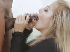 Madelyn got fucked hardcore from behind by a big black cock