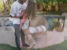 Horny hottie babe Riley Reid having a huge dick