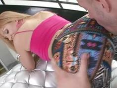 Sweet Lea Lexus fucking big dicks