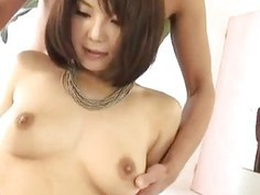 Azumi sticks it in her willing fish taco