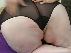 White Ass Bbw Wants To Be A Porn Fat Star Part 1