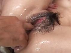 Nasty gangbang with horny Japanese?Sakura Hirota?