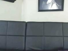 Hot Secretary Really Wants The Job On Webcam