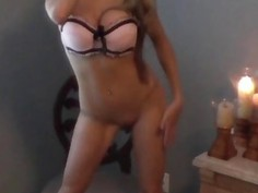 MILF Masturbates On A Chair