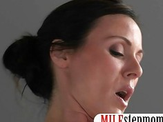 MILF punished her stepson for sneaking on her in the bathtub