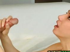 Fit Alexis Rodriguez suck a mean cock