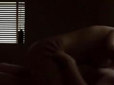 Couple having hardcore home sex