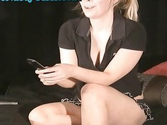 Hot Blonde Role Play Webcam Girl