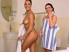 Clean Czech girls going dirty