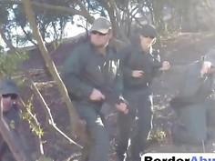 Amateur Threesome For Border Sluts Is Amazing