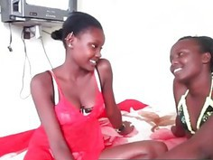 Amazing ebony sluts having great amatuer action