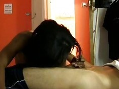 Pretty Amateur Ebony Bitch Fucked Hard By White Guy