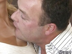 Beautiful blonde Milf banged in hotel