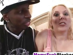 Lovely Milf Kara Knox Riding Big Black Schlong