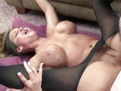 Leeanna Heart is taking on a stiff cock