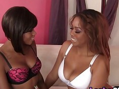 Black Lesbians With Fantastic Tits Pleasure Pussies In Multiple Cool Ways