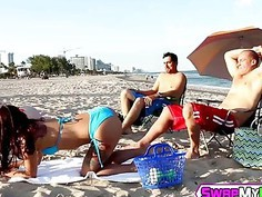 Gina Valentina and Kobi Brian riding that big hard cocks