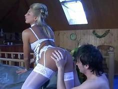 Cornelia&Rolf nasty nylon movie