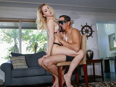 Feeling extra playful and kinky with the step daughter