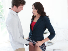 Boyfriend can only fuck her tight ass