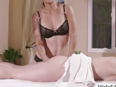 Attractive sexy lesbian Dana haviing fun eating AJs wet pussy