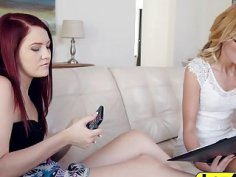 Spoiled teen jewels Jade in a lesbian adventure with her hot tutor Alexa Grace