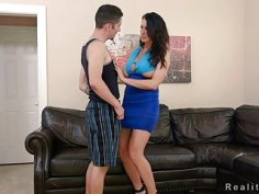 Huge tits Milf fuck young hitchhiker