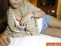Amateur Asian Teen Riding Big Schlong In Hotel Room