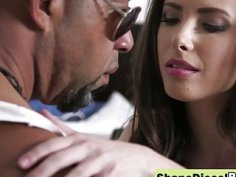 Gorgeous Brunette Casey Calvert Gets Asshole Gaped By Shane Diesel's Gigantic Black Cock
