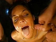 Lesbian sweethearts acquires group pissing